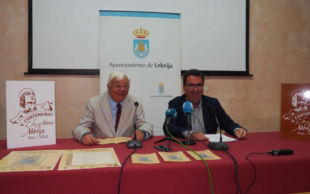 Del 24 al 26 de octubre se celebrarán en Lebrija las IV Jornadas Universitarias Elio Antonio de Nebrija